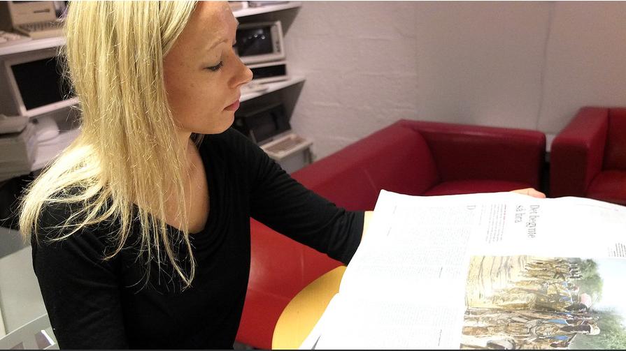 Postdoktor og MONC-forsker Helle Sjøvaag (Foto: På Høyden).