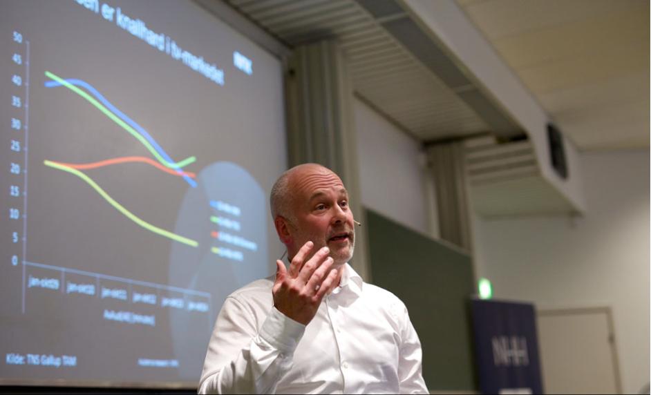 Kringkastingssjef Thor Gjermund Eriksen. Foto: Bjørn Erik Larsen